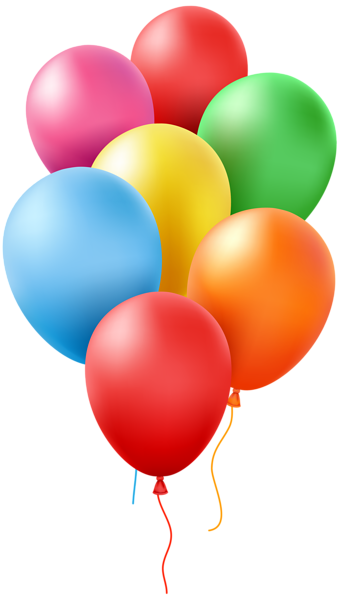 Balloons Transparent Clip Art Image Balloons, Happy