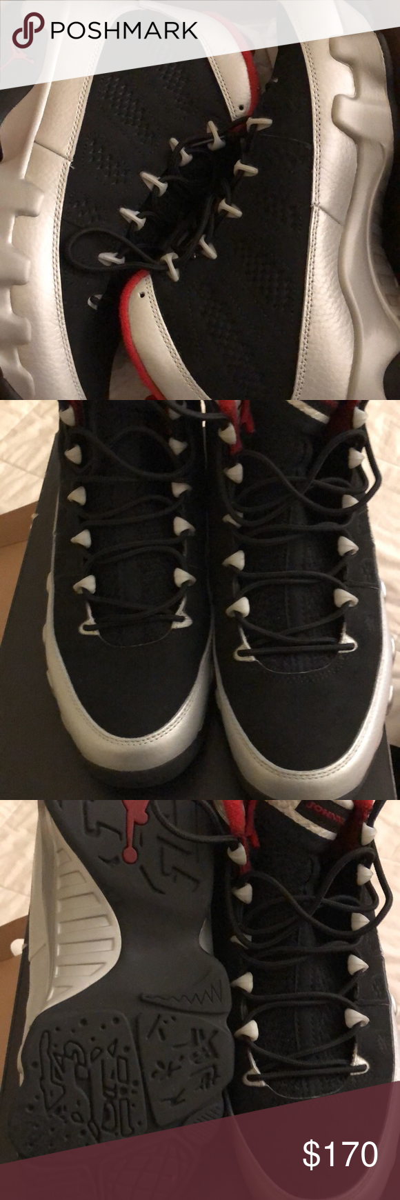 6ade3d7402b Retro Air Jordan 9 Johnny Kilroy Once worn perfect condition Retro 9  Jordan. Men's size 8 Jordan Shoes Sneakers