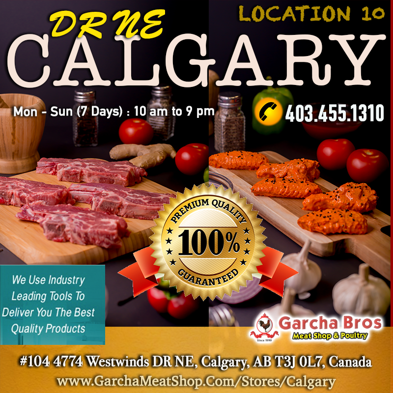 Healthy, Hygienic Meat Shop Calgary / Call 4034551310