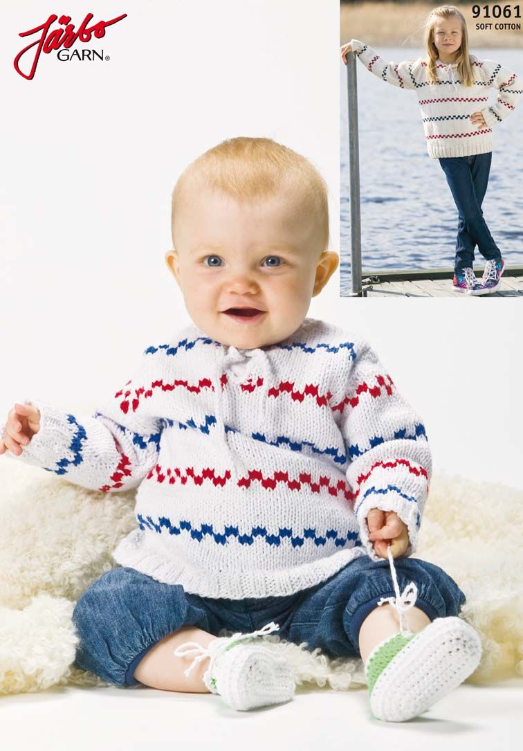 The classic Pippi sweater. | Tejidos de niños | Pinterest | Tejido