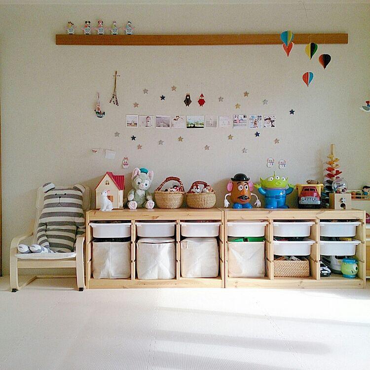 子供部屋/トロファスト/イケア/無印良品/部屋全体のインテリア実例 - 2015-11-30 12:54:06 | RoomClip(ルームクリップ)