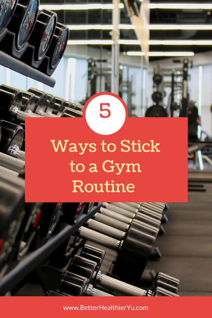 Sticking to a workout routine can be tough. Starting anything new can be hard to adjust and stick to...