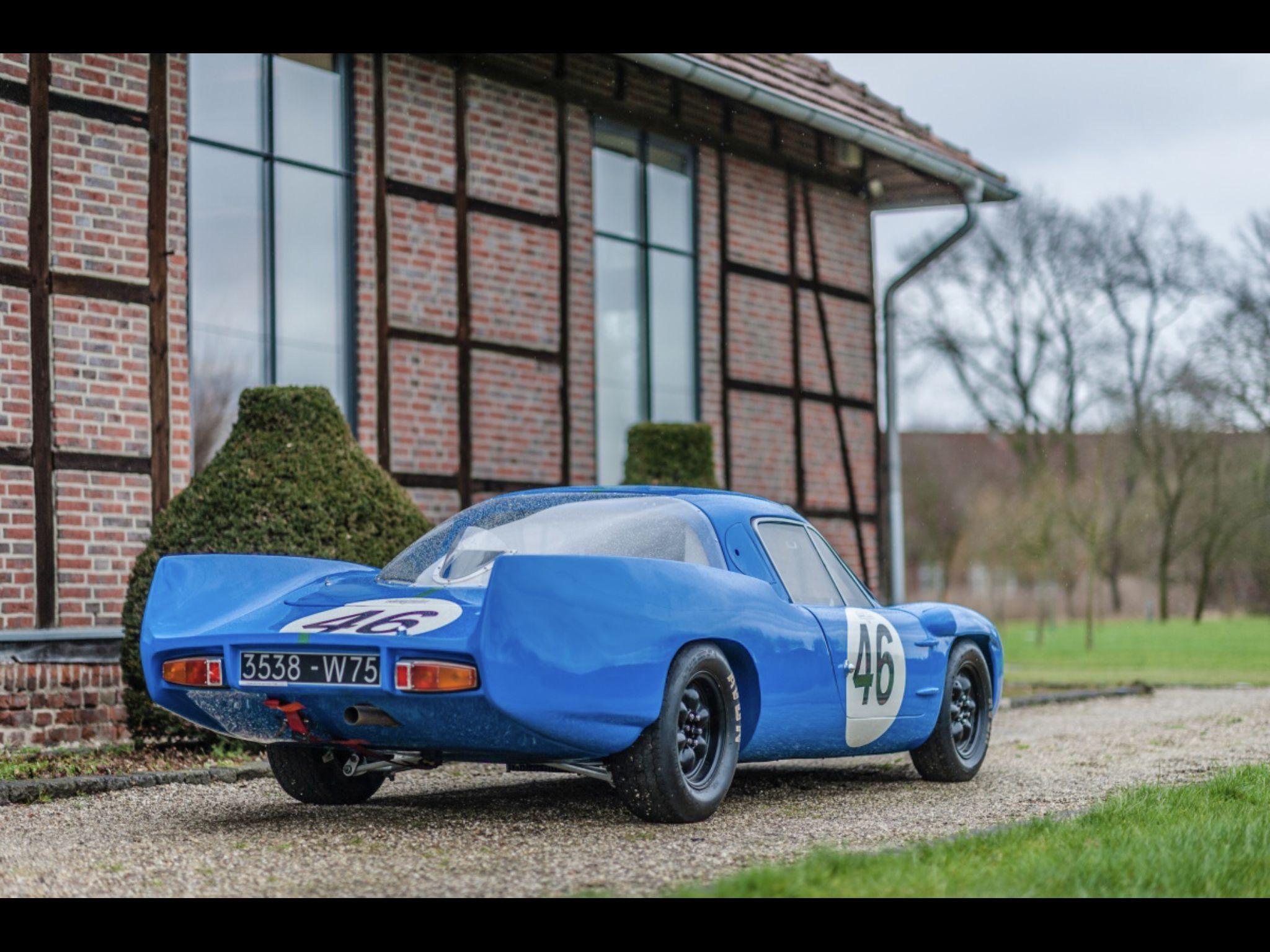 1964 Alpine A210 M64 Ex Work Le Mans Car Car Guys Car Vintage Racing
