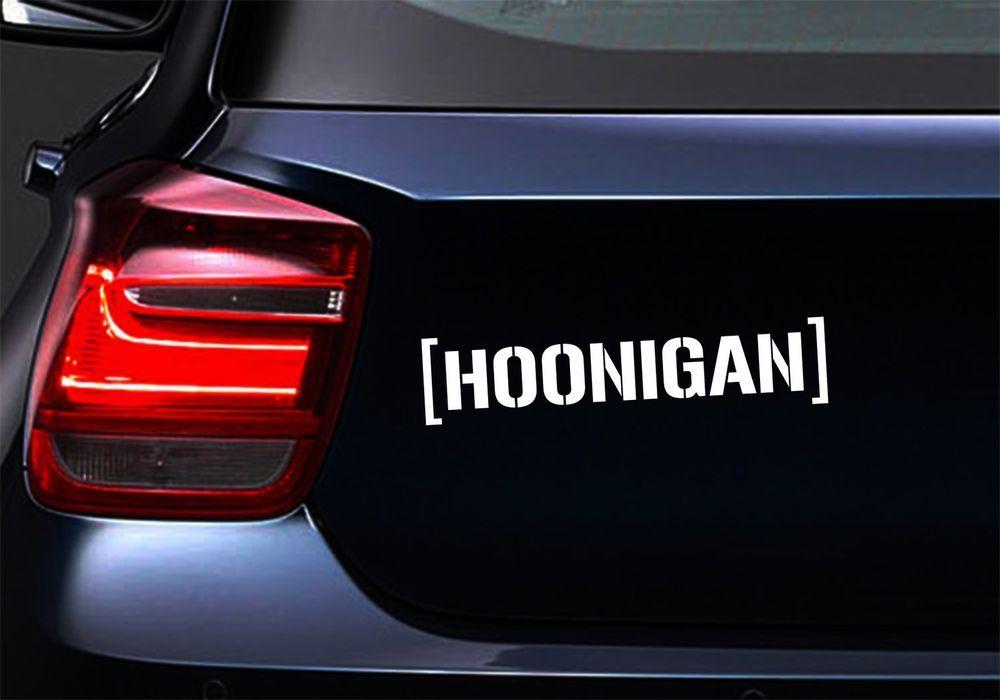 Hoonigan Ken Block Jdm Sticker Auto Laptop Motorrad Aufkleber