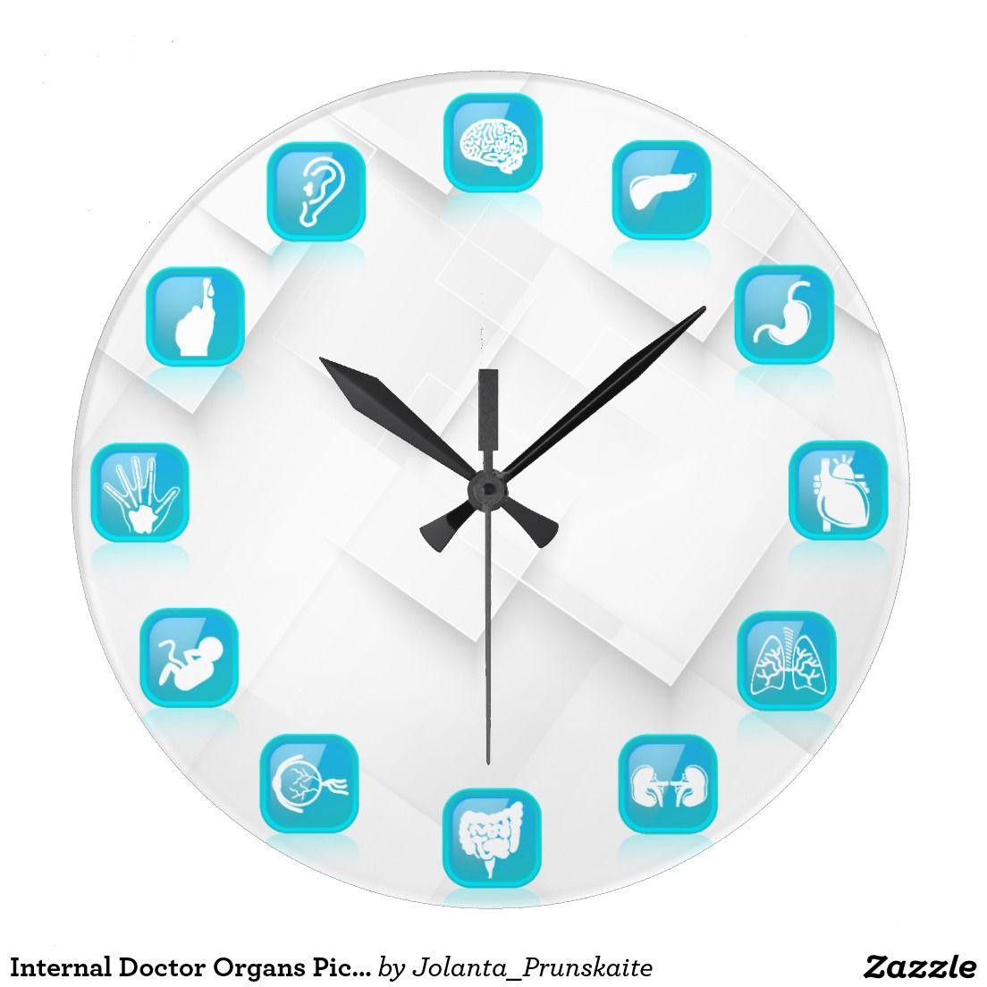 Internal doctor organs picture original wall clock wall clocks internal doctor organs picture original wall clock amipublicfo Gallery