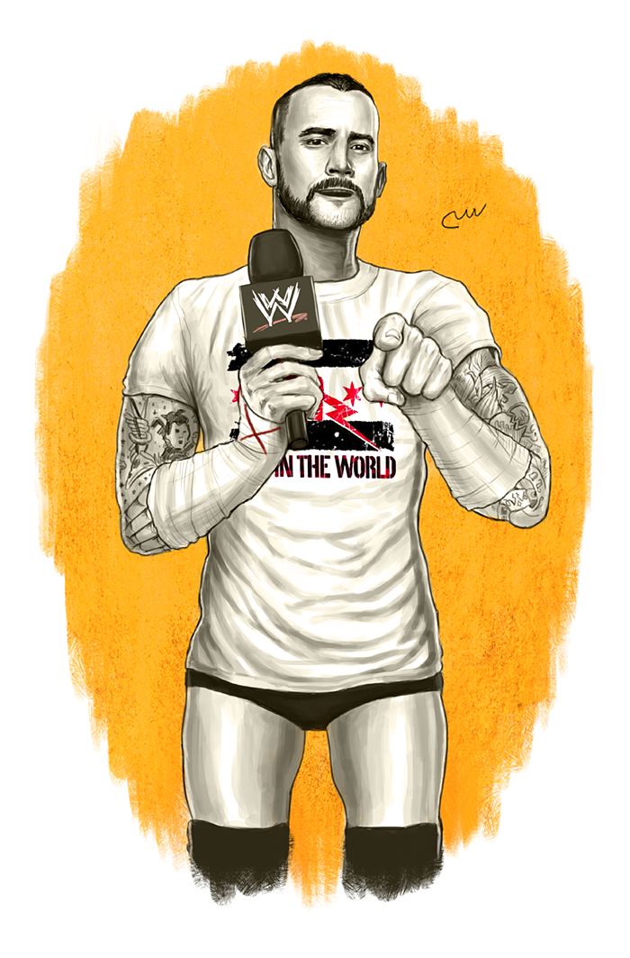 Wwe Cm Punk Best In The World Tee By Baguettepang Cm Punk Wwe Wallpapers Wwe