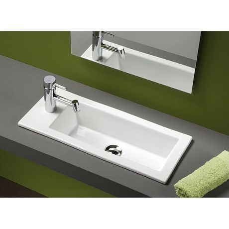 lave mains c ramique encastrer alicante 39 sanindusa ba os pinterest faucet and sinks. Black Bedroom Furniture Sets. Home Design Ideas