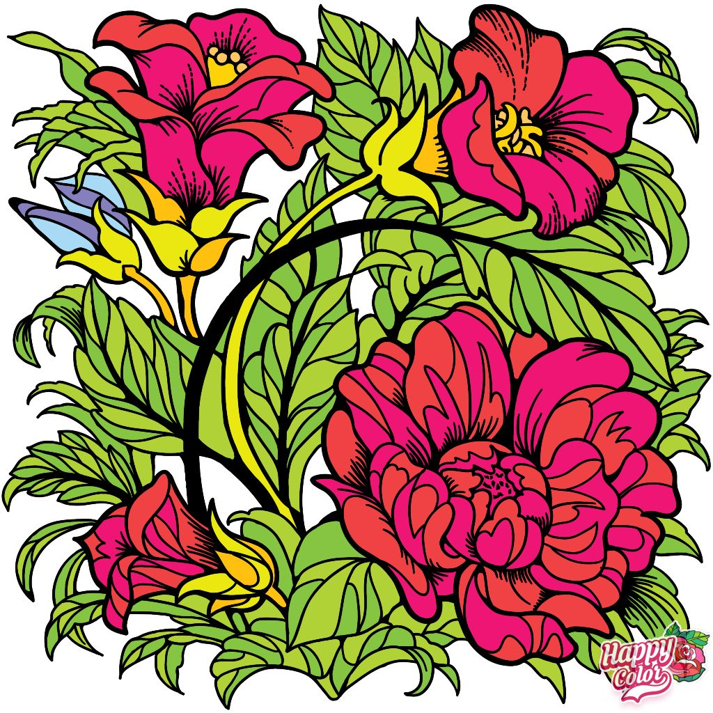 Pin By Christian Clings On Color By Numbers In 2020 Happy Colors Coloring Apps Colouring Pages