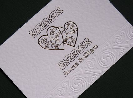 celtic weddings balloon hearts irish celtic wedding invitations - Celtic Wedding Invitations