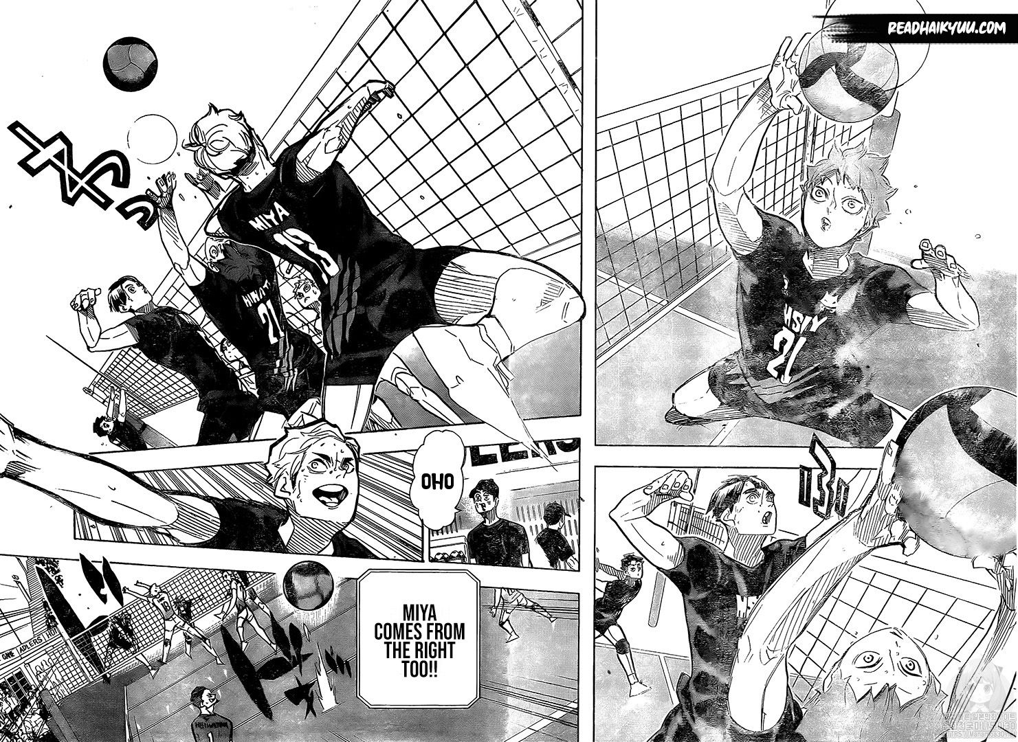 Haikyuu Chapter 385 Read Haikyuu Manga Online Haikyuu Manga Haikyuu Anime Haikyuu Fanart Ever since he saw the legendary player known as the little giant compete at the national volleyball finals, shoyo hinata has aimed to be the best volleyball player ever! haikyuu chapter 385 read haikyuu
