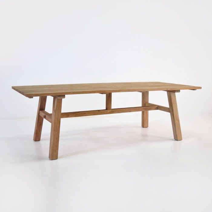 Beautiful Honey Colored Reclaimed Teak Dining Table With Character And Stunning Looks Save Up To 70 Off Rrp On Dining Tables At Design Ware Teak Dining Table Outdoor Dining Dining Table Design
