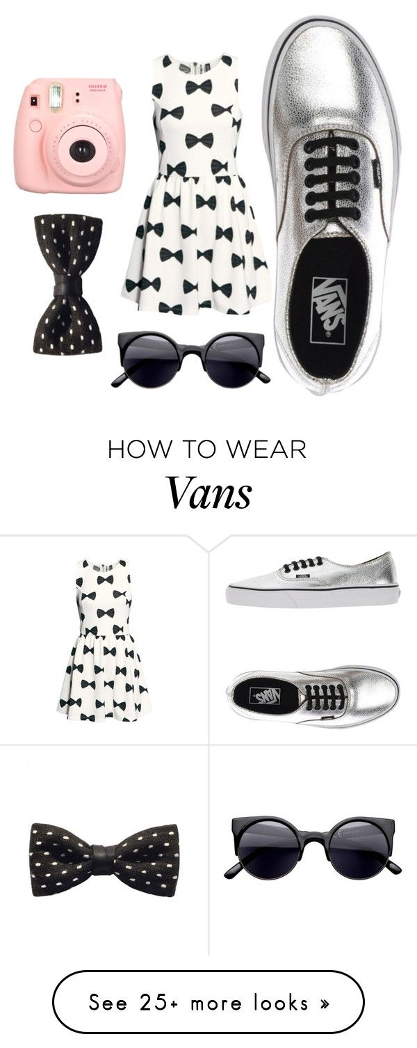 """""""Bows before bros<3"""" by turkey-ii on Polyvore featuring Polaroid, ZuZu Kim and Vans"""