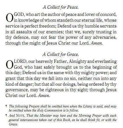 Prayers From The Book Of Common Prayer Http Www Prayerbook Ca