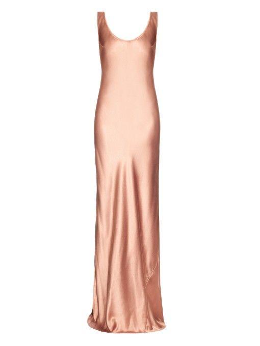 2fa85853463b Galvan Bias-cut silk-satin gown | thailand in 2019 | Satin gown ...