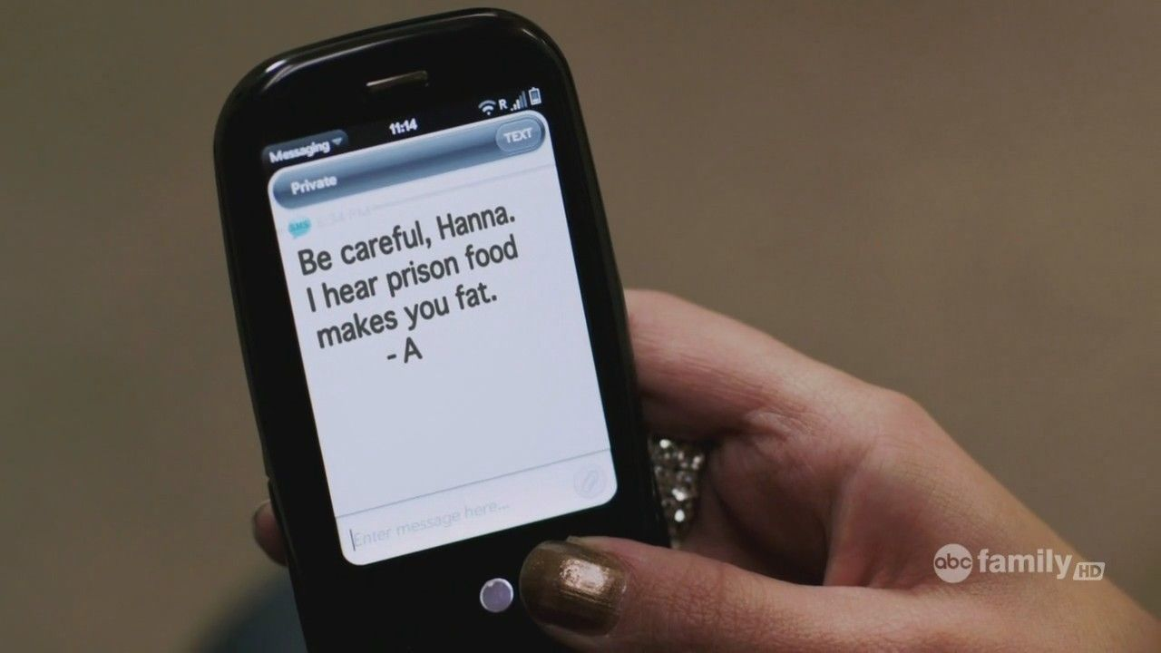 text message about gays in tv