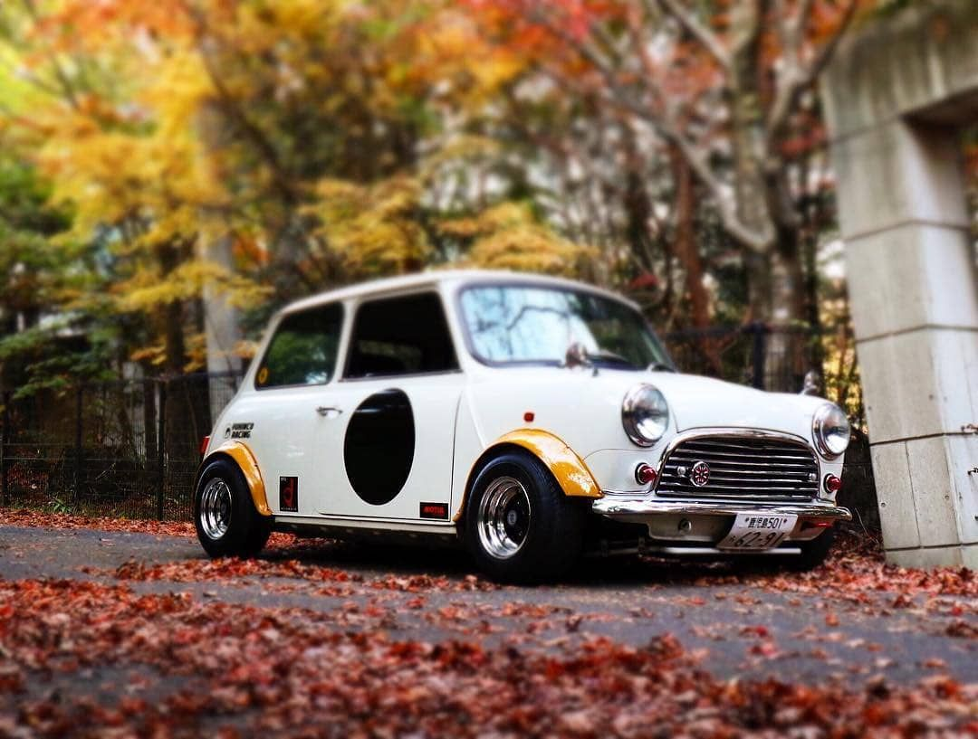 Japan Style Photo Credit Whyks0821 Love It Share It Like It Thanks Follow Mini Cooper Classic Classic Mini Classic Cars