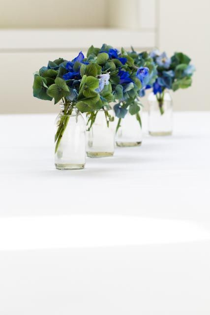Size Of Small Floral Arrangements X4 For Poseur Tables At