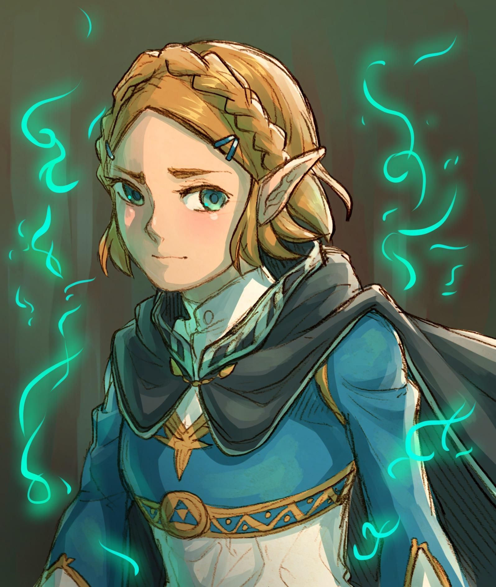 Short Hair Zelda The Legend Of Zelda Breath Of The Wild Legend Of Zelda Legend Of Zelda Breath Breath Of The Wild