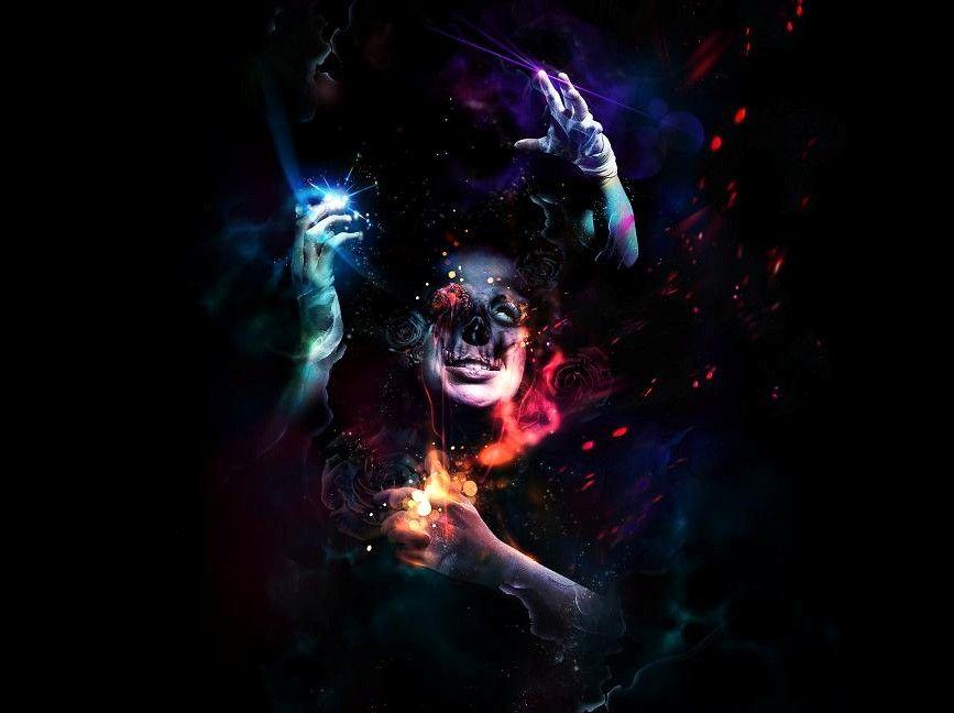Psychedelic | Full hd wallpaper, Black magic, Hd wallpaper