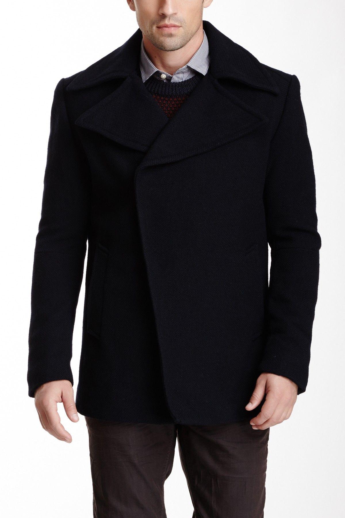 Asymmetrical Coat on HauteLook