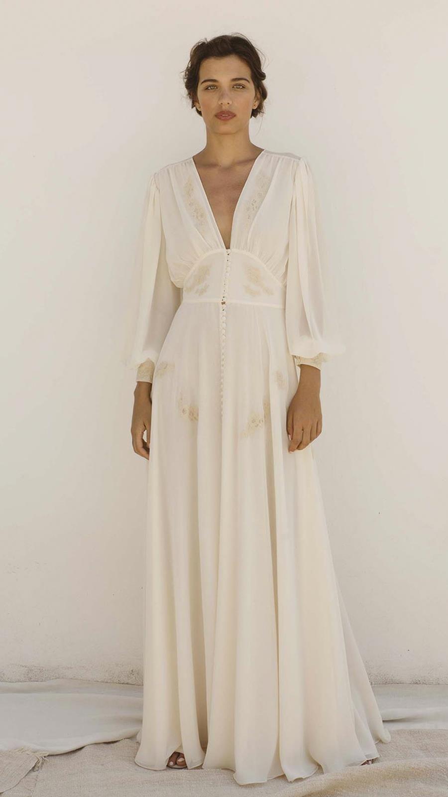 34f30f63fd69 Los vestidos de novia de segunda mano también son vintage en L'Arca ...