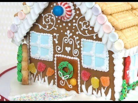 casa de jengibre navideña, con la de ikea