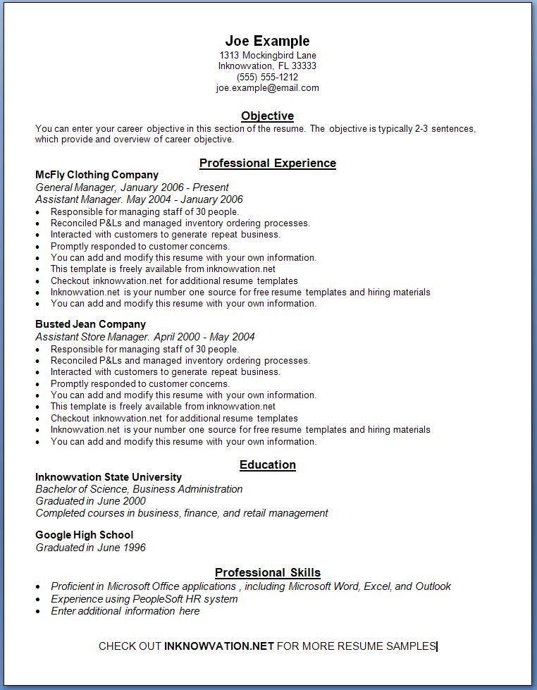 Easyjob resume builder 4.96 build pamillo Sample
