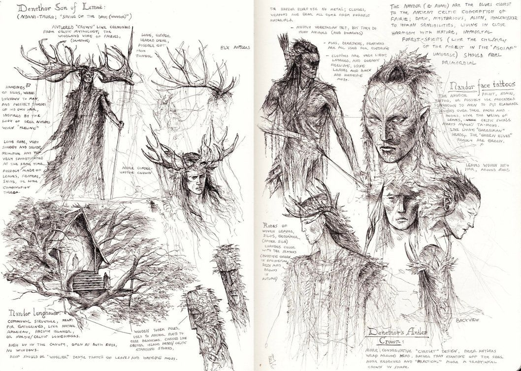 Nandor Elves studies by TurnerMohan on DeviantArt ...