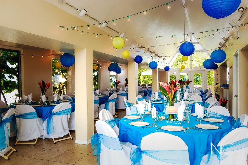 Our Beach Themed Wedding At Pelican Club House Satellite Fl