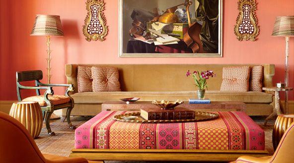 Wandfarbe apricot frische wand streichen ideen freshouse wohnfarben pinterest - Wandfarbe apricot ...