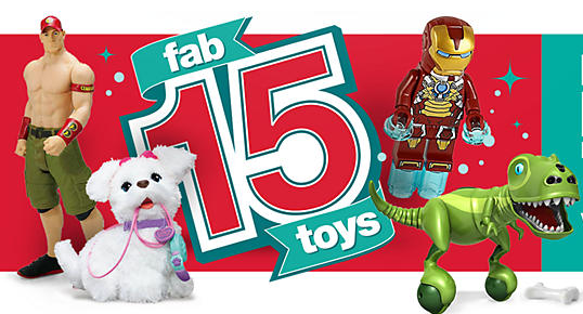 Kmart Fab 15 Toy Giveaway - West Coast Mama