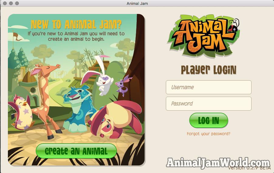 Animal Jam Desktop App
