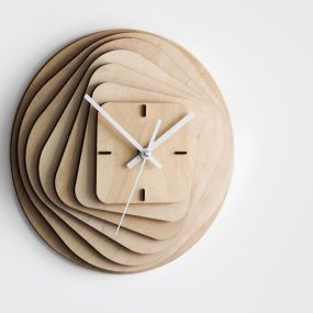25 modern wall clocks that will change your view on time - Modern Clocks