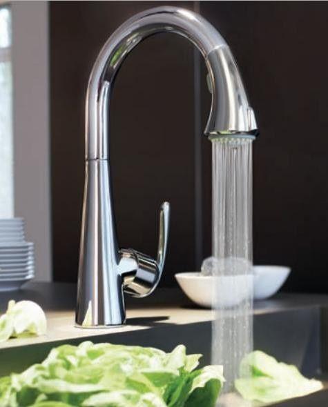 Suministros de limpieza y saneamiento acabado faucet-chrome SZ beaucoup dos asas cascada Contemporáneo con alcachofa bañera