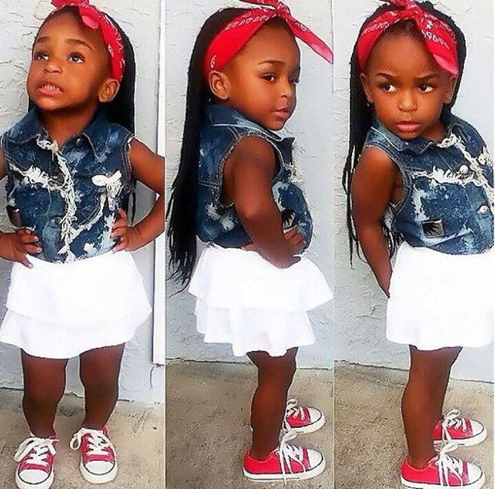 @shesoglorious | Girl outfits, Cute outfits for kids ... |Little Black Kids With Swag