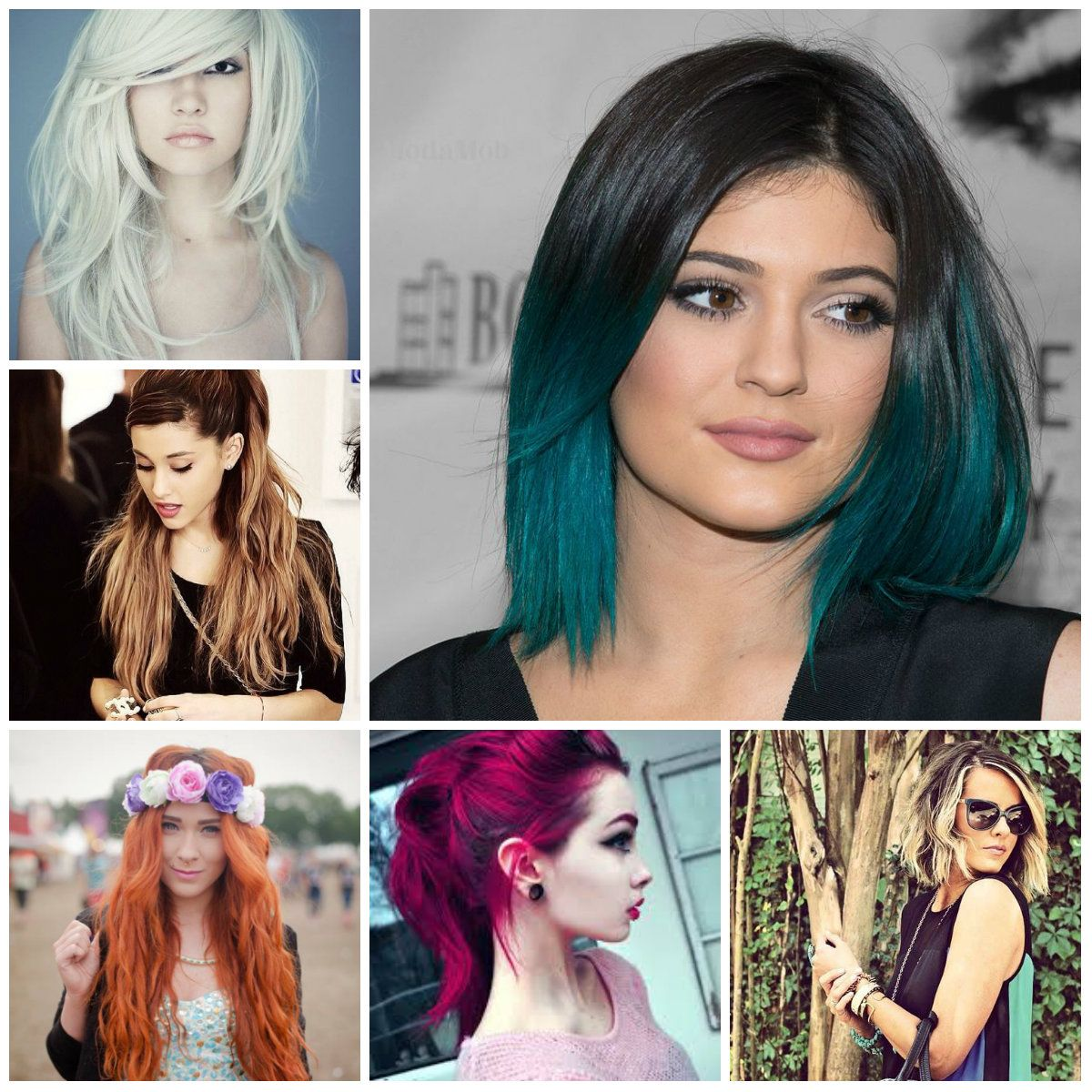 Trendy Hairstyles For Long Hair: Latest Hair Color Ideas 2016