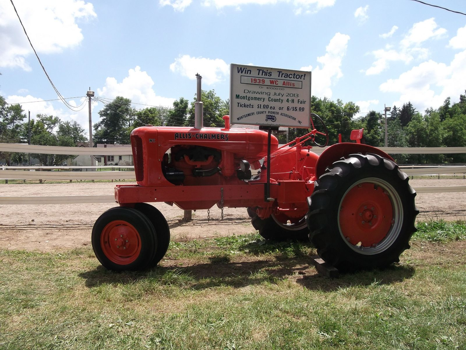 1939 Allis Chalmers WC tractor | by cjp02 4h Fair, July 14th, Metal Art
