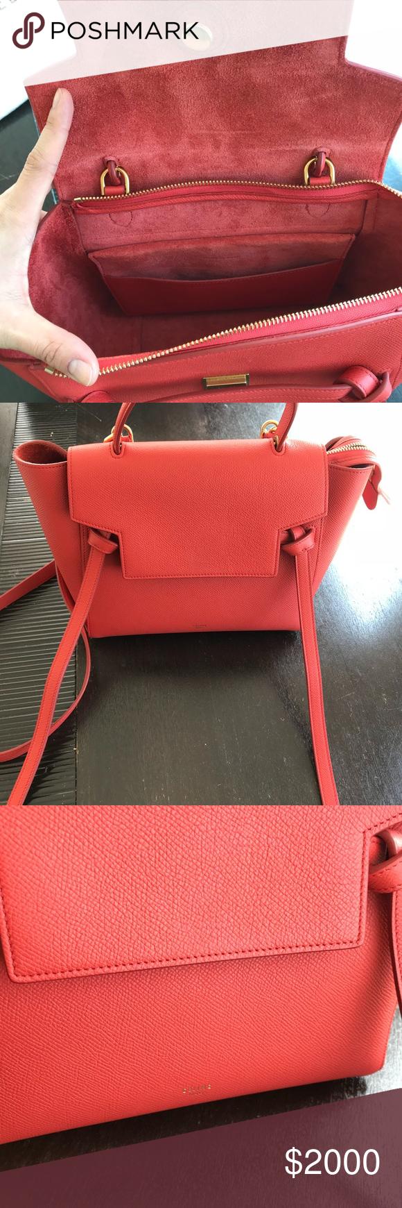 Celine Micro Belt Bag 100% authentic Celine Micro Belt Bag in grained  leather Color is 5b89608ea34ba