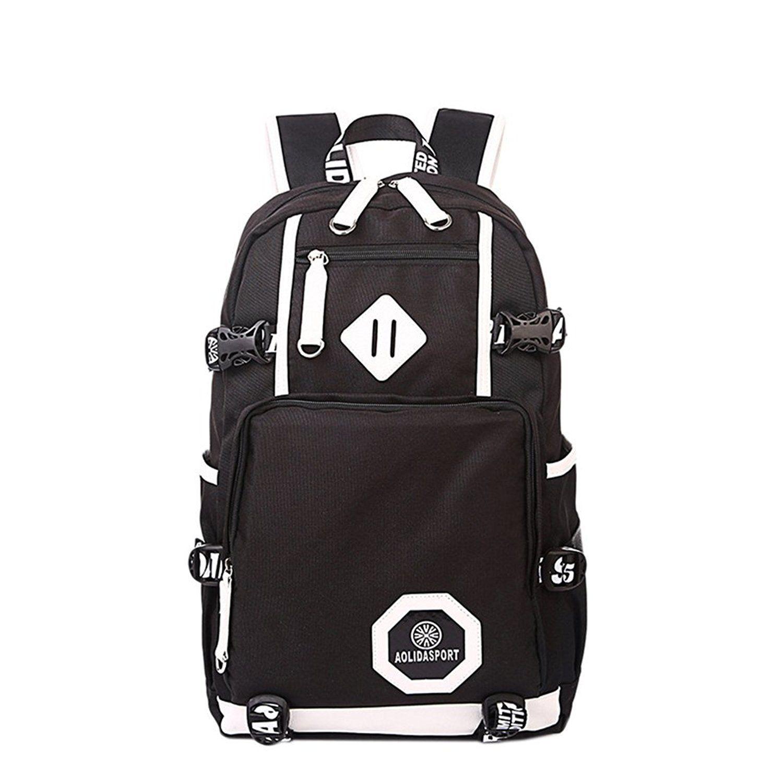 linbag popular heavy duty teens high school backpack bookbag for