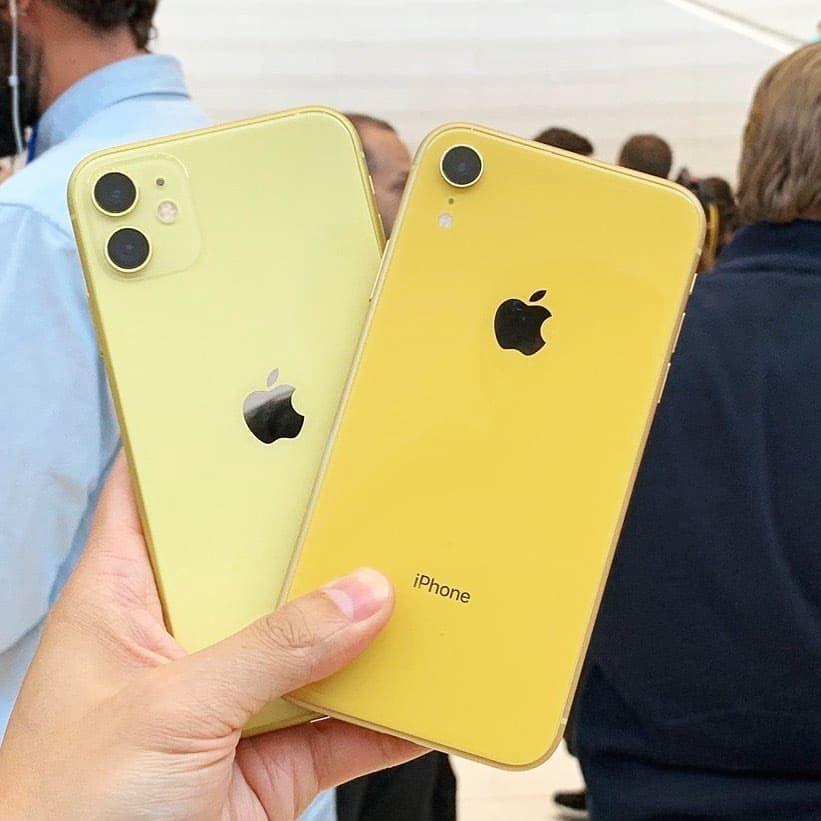 iphone 11 yellow case apple