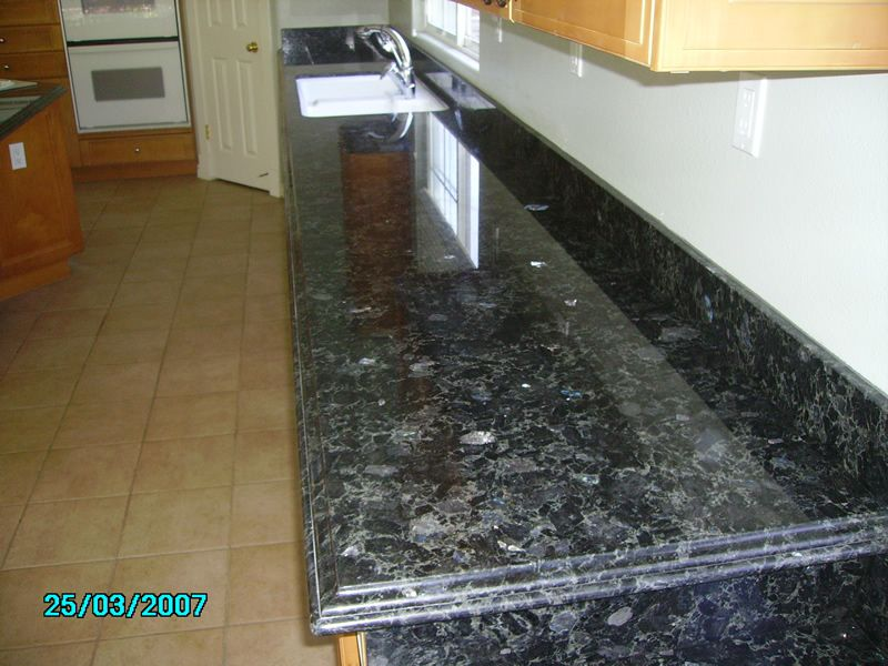 Volga Blue Granite Blue For Kitchen Decoration Ideas We Like House Blue Granite Blue Granite Countertops Granite