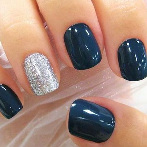 45 Cute Winter Nail Designs