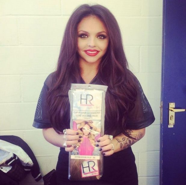 Perrie Edwards And Jesy Nelson Wear Lauren Popes Hair Extensions