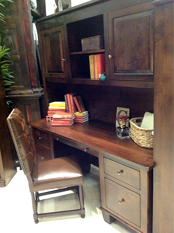 Brand New Handcrafted Solid Wood Home Office Furniture Is Now