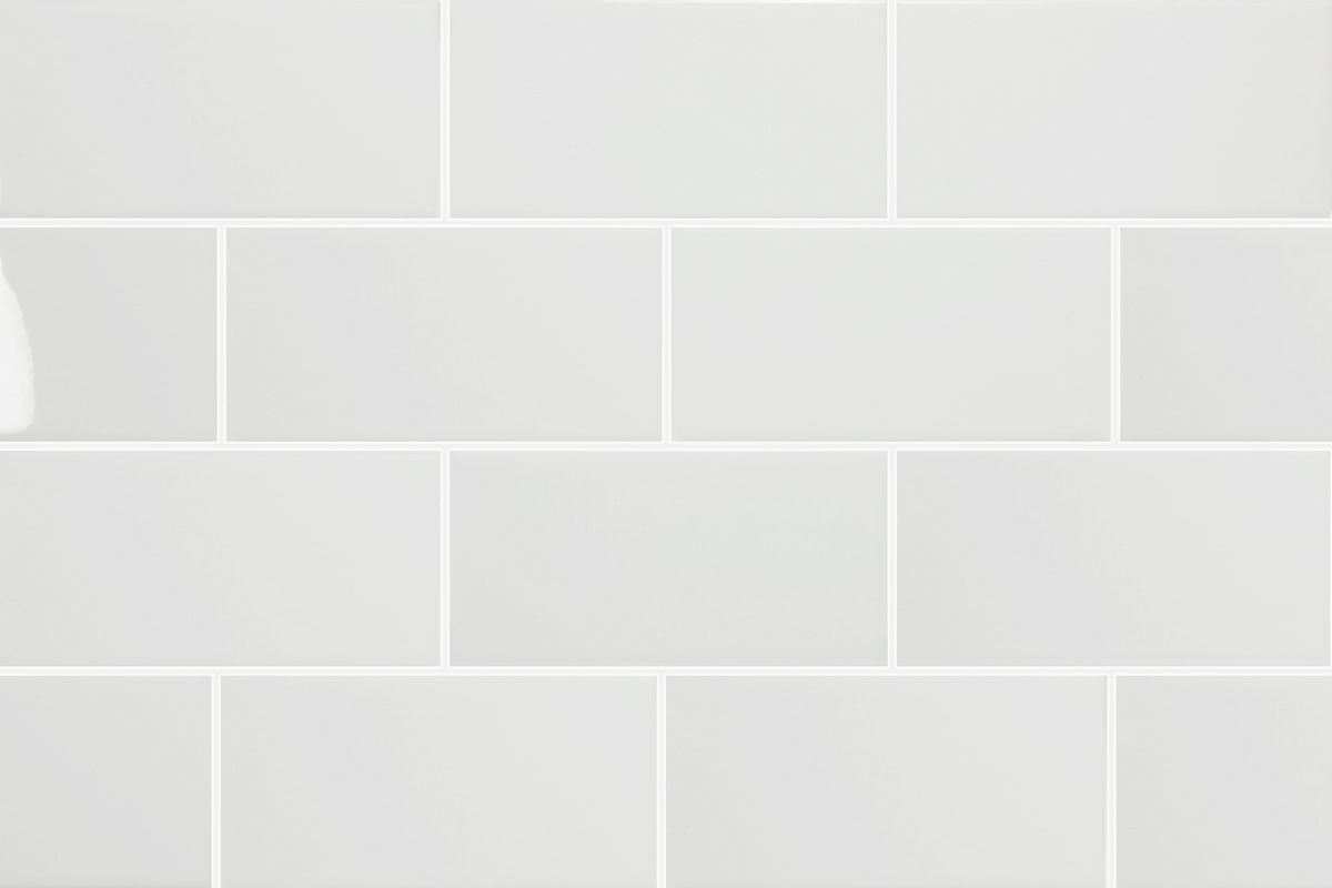 N A Open Plan Kitchen Living Room Glass Subway Tile
