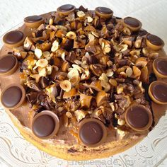 Homemade By Juli Toffifee Torte Kuchen Pinterest Homemade And
