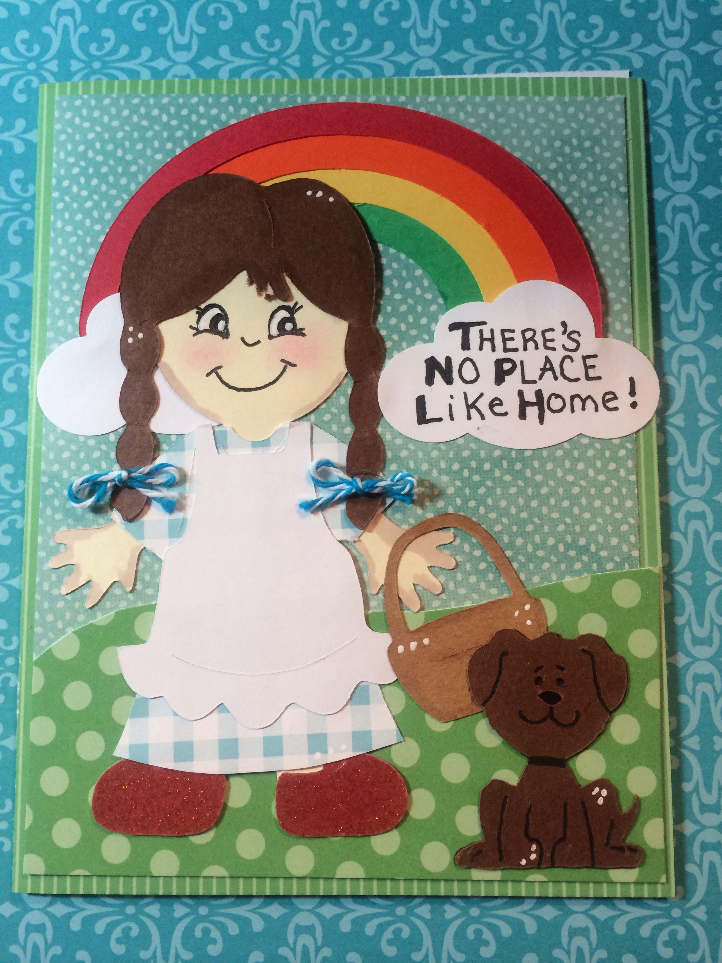Cricut card Everyday Paper Dolls Wizard of OZ