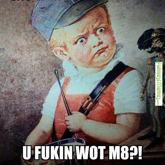 Funny Meme - [This painting from WWI begged to have this caption. I obliged.]
