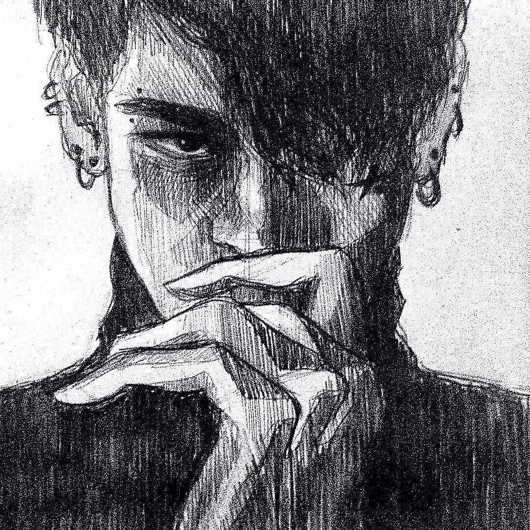 Я ищу глаза а чувствую взгляд pencilfanarttumblrdaily