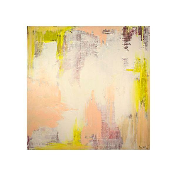 Linda Colletta Spring Blush Acrylic / Lucite Paintings ($349 ...